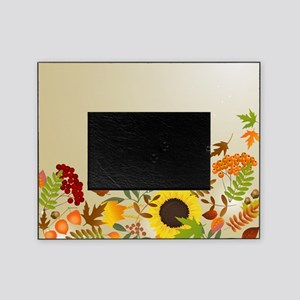 Golden Thanksgiving Picture Frame