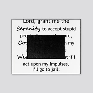 Sarcastic Serenity Prayer 02 Picture Frame