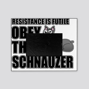 Obey The Schnauzer Picture Frame