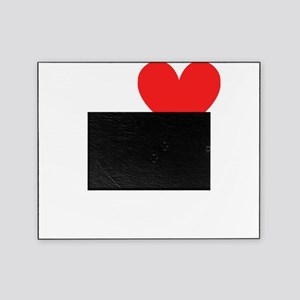 I Heart Equestrian Games dark t-shir Picture Frame
