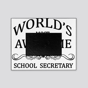 school secretary Picture Frame