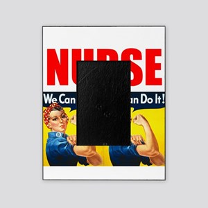 Nurse Rosie the Riveter We Can Do It Picture Frame