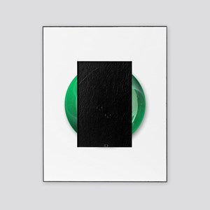 Lucky One Star Ball (Green) Picture Frame