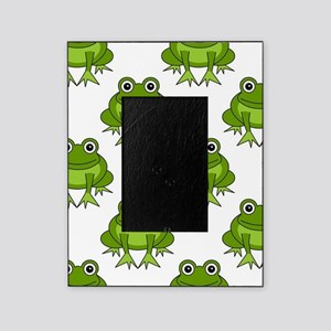 Cute Happy Frog Pattern Picture Frame