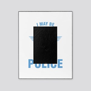 I May Be Retired Police Officer Cop Picture Frame