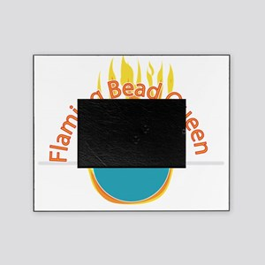 2-flaming bead queen Picture Frame