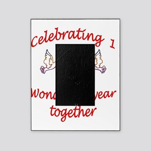 celebrating 1 years  Picture Frame