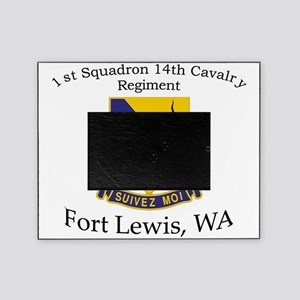 1st Squadron 14th Cavalry Picture Frame