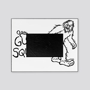 Gone Squatchin Picture Frame