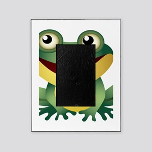 Green Cartoon Frog-4 Picture Frame