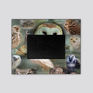 Happy Owls Picture Frame