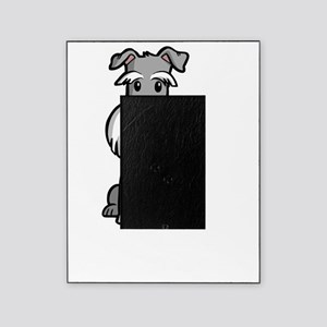 Life-is-better-with-a-Schnauzer-dark Picture Frame
