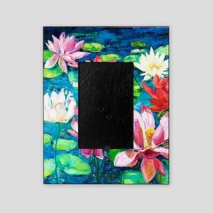 Lotus Flower Picture Frames Cafepress