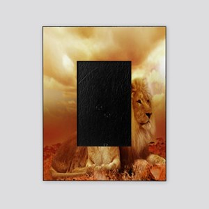 Africa Lion and Lioness Picture Frame