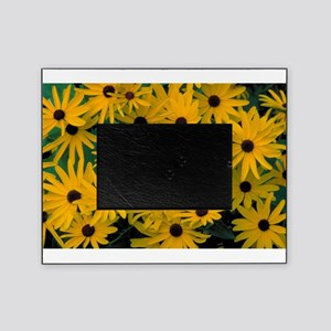 Bunches of tiny Sunflowers Picture Frame