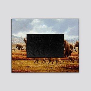 Woolly mammoths Picture Frame