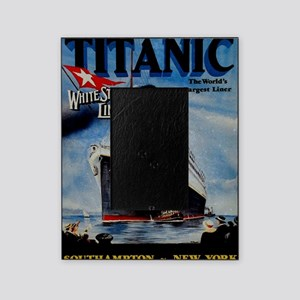 Vintage Titanic Travel Picture Frame