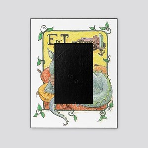 Dragon Reader (ex Libris) Picture Frame