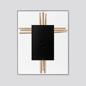 Cross - Drumsticks Picture Frame