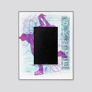 Vector Skater Collage Picture Frame