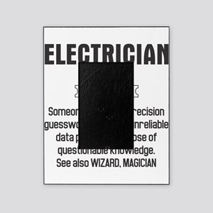 Funny Electrician Definition Picture Frame