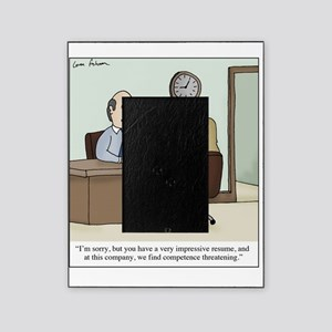 Competence Threat Picture Frame