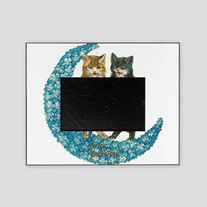 funny singing cats Picture Frame