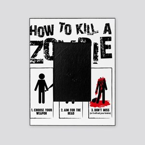 kill zombie Picture Frame