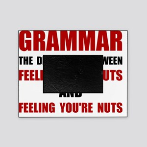 Grammar Nuts Picture Frame