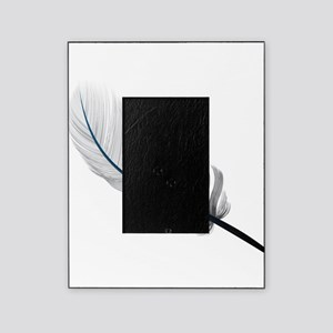 Gray Quill Picture Frame