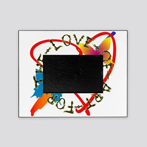 For The Love Of Art Picture Frame