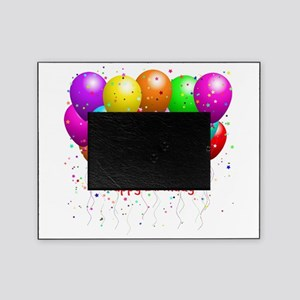 Happy Birthday Balloons Picture Frame