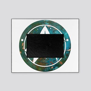 Star Trek logo Steam Punk Copper Picture Frame