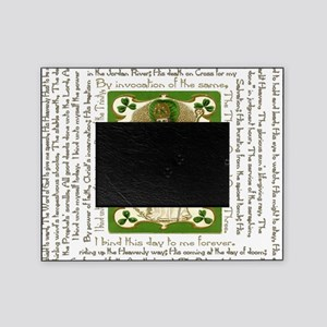 St. Patricks Breastplate Square Picture Frame