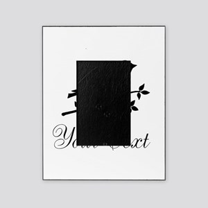 Personalizable Black Bird Silhouette Picture Frame