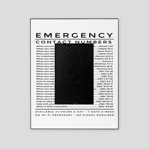 bible emergency number Picture Frame