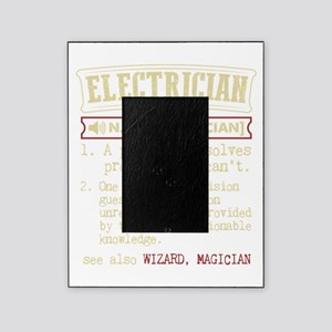 Electrician Funny Dictionary Term Picture Frame