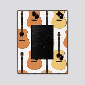 Acoustic Guitars Pattern Picture Frame