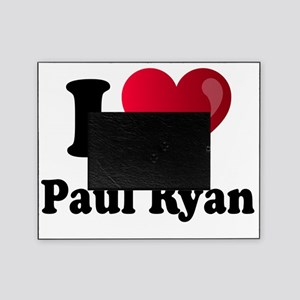 I Heart Paul Ryan Picture Frame