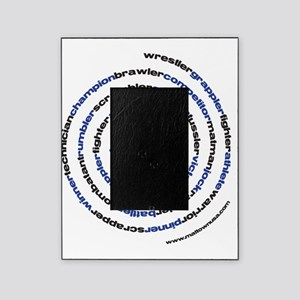 SpiralWrestlerWords Picture Frame
