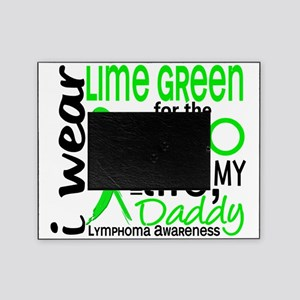 D Hero In Life Daddy Lymphoma Picture Frame