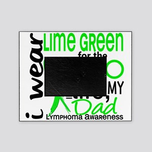 D Hero In Life Dad Lymphoma Picture Frame
