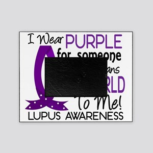 D Means The World To Me Lupus Picture Frame