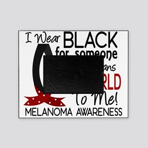 D Means The World To Me Melanoma Picture Frame