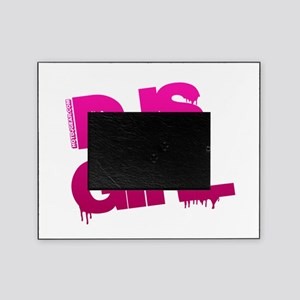 DJs Girl Pink Picture Frame