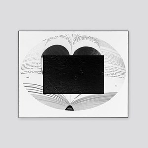 Cute Love of Books Picture Frame