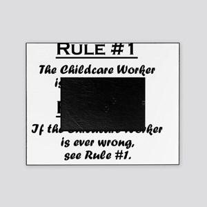 Rule Childcare Worker Picture Frame