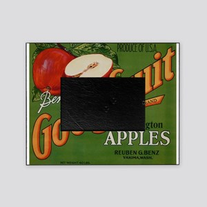 Vintage Fruit Vegetable Crate Label Picture Frame