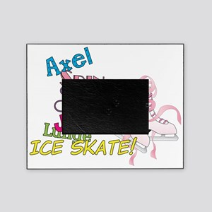 Ice Skating Picture Frame