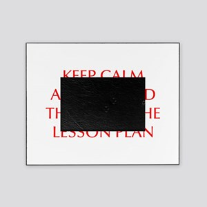 KEEP-CALM-LESSON-PLAN-OPT-RED Picture Frame